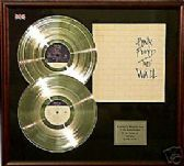 PINK FLOYD The Wall  -Dble platinum disc & cover